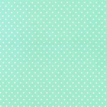 Cozy Cotton Mint Dots