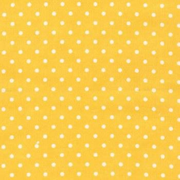 Cozy Cotton Yellow Dots