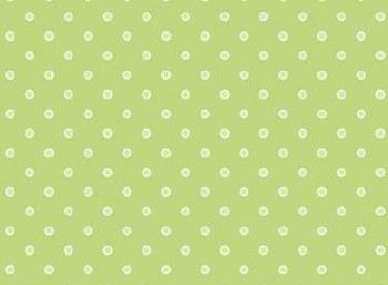 Basically Hugs Dots Green