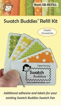 Swatch Buddies Fabric Fan