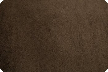 Cuddle Solid Brown 90 Inch