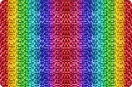 Cuddle Backsplash Rainbow