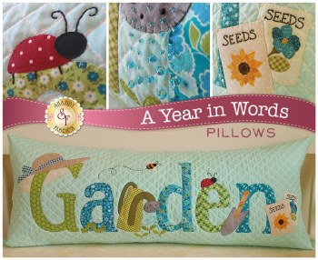 A Year in Words Garden