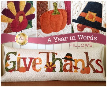 A Year in Words Give Thanks
