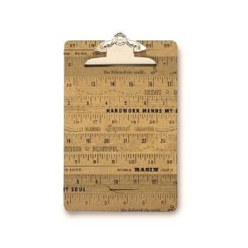 Clip Board Small Ruler