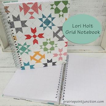 Lori Holt Stitch Grid Notebook