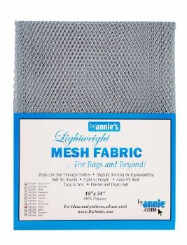 Mesh Lite Weight Pewter18 x 54
