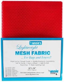 Mesh Lite Weight Red 18 x 54