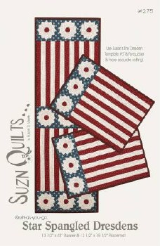 Star Spangled Dresdens Pattern