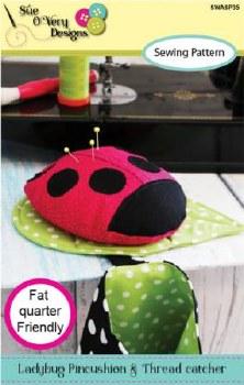 Charming Stamp Ladybug Pincush
