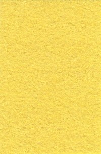 Wool Felt - Mellow Yellow 12x18