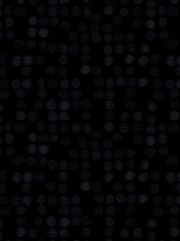 Hue Black on Black Geo Dot