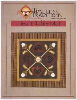 Heart Table Mat