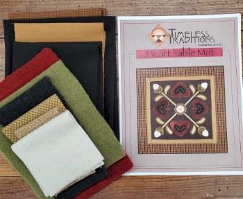 Heart Table Mat Kit
