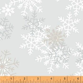 """108"""" Backing Snowflake"""