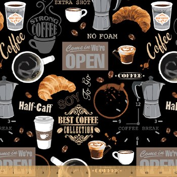 Coffee Shop Coffee Break Black