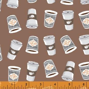 Coffee Shop Coffee Cups Taupe