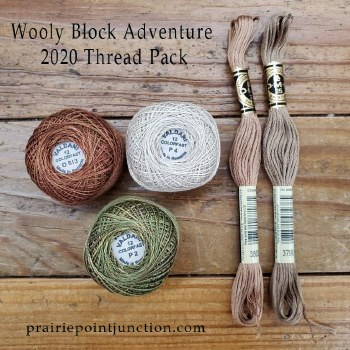 Wooly Block Adv 2020 Thread Pk