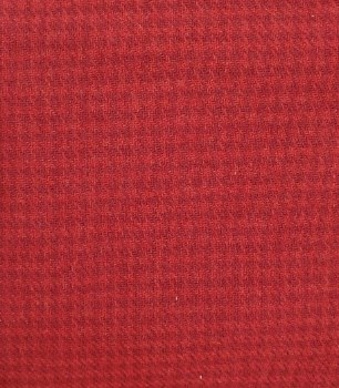 Wool Houndstooth Red