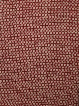 """Wool 18"""" x 27"""" Honeycomb Red"""
