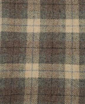 "Wool 18"" x 28"" Sandstone Plaid"