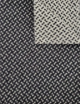 """Wool 18"""" x 28"""" Black Tie"""