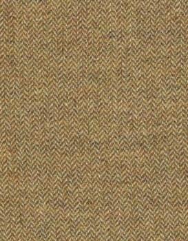 Wool Gold Herringbone