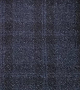 Wool Midnight Blue Yardage