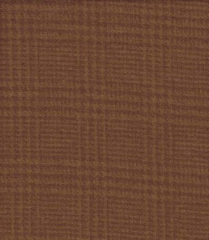 Wool Brown Glen Plaid