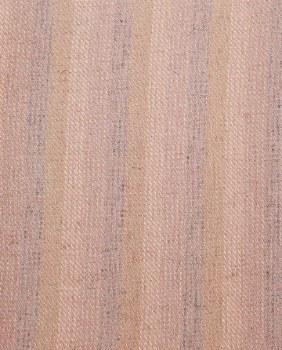 """Wool 18"""" x 28"""" Pink Mini Stripe"""