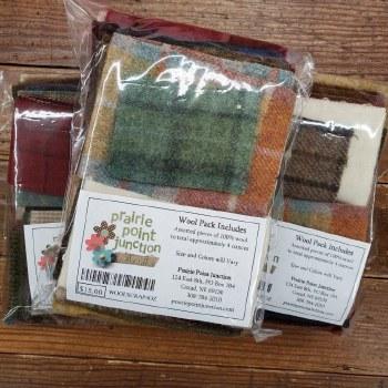 Wool Scrap Bag 4 Ounce
