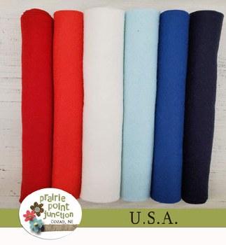 USA Wool Blend Felt Bundle
