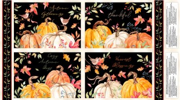 Autumn Day Placemat Panel