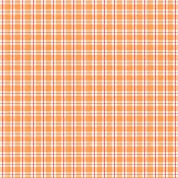 Autumn Day Plaid Orange