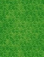 Essentials Flannel Dots Dark Green