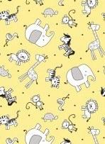 Little Sunshine Animal Yellow