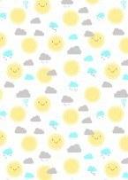 Little Sunshine Sun White