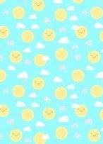 Little Sunshine Sun Turquoise