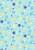 To The Moon & Back Stars Blue