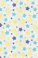 To The Moon & Back Stars Grey