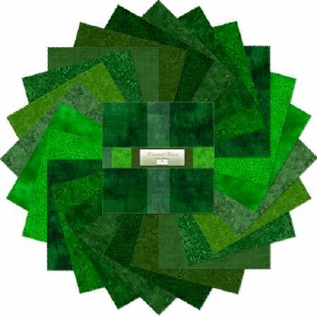 Emerald Forest 10 Inch Squares