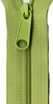 "Zipper 24"" Handbag Lime"