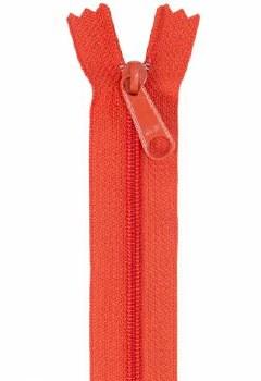 "Zipper 24"" Handbag Tangerine"
