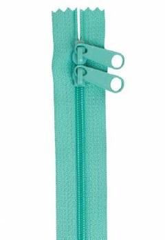 "Zipper 30"" Double Slide Turq"