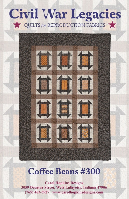 Peeking Points Quilt Pattern by Cozy Quilt Designs
