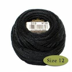 Pearl Cotton - Size 12 Black