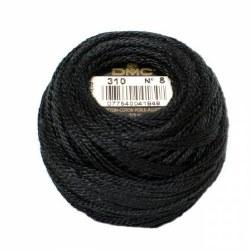 DMC Pearl Cotton 310 Black