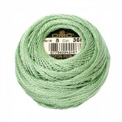 DMC Pearl Cotton 368 Mint