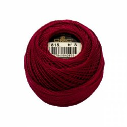 DMC Pearl Cotton 815 Md Garnet
