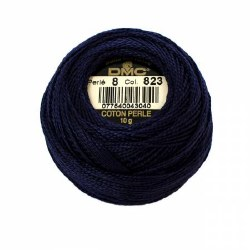 DMC Pearl Cotton 823 Dark Navy